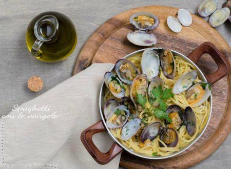 Spaghetti con le vongole primo piatto di mare
