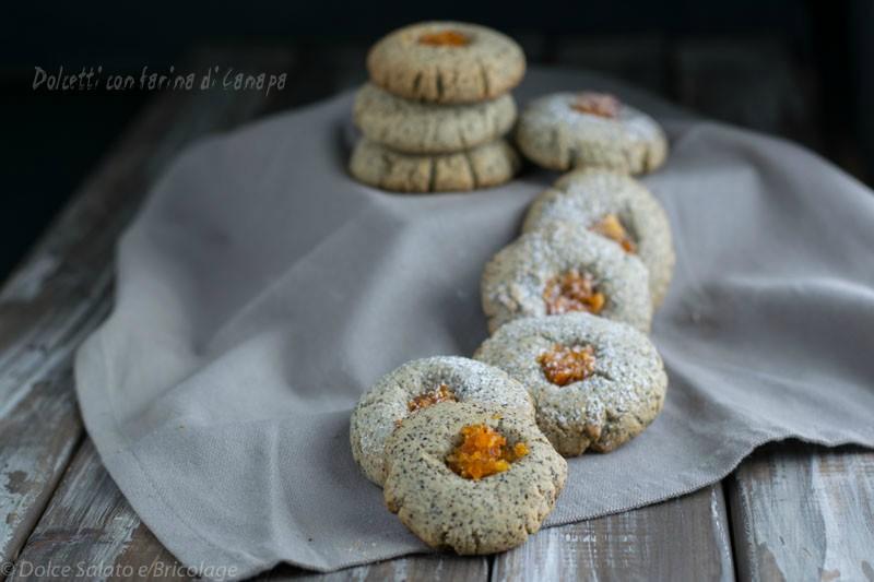 dolcetti con farina di canapa