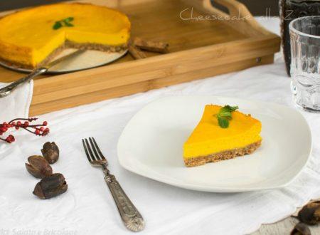 Cheesecake alla zucca – non la classica cheesecake
