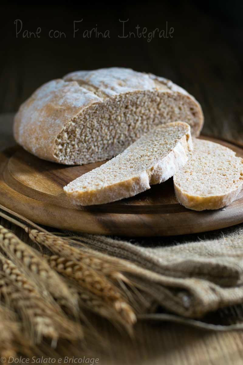 pane con farin integrale di grano tenero