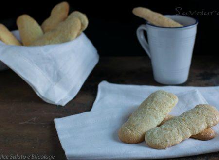 Savoiardi biscotti da inzuppo facili da preparare