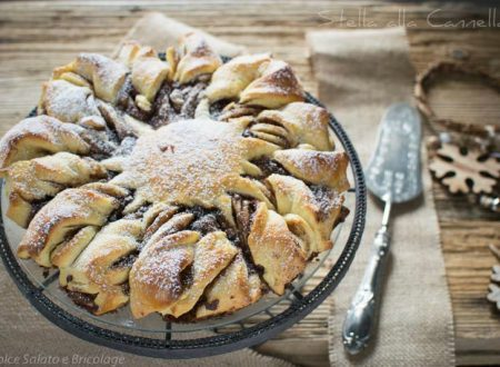 Stella di pan brioche svedese alla cannella