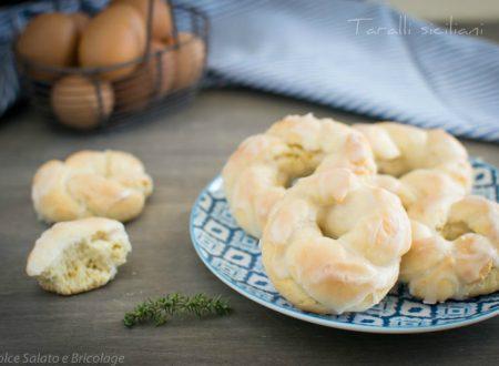 Taralli siciliani ricetta tipica regionale – ricetta dolci