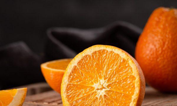 Risotto con pesce spada, gamberi e arance
