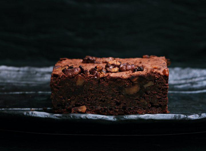 Brownie con noci