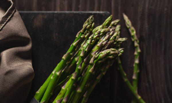 Risotto con asparagi e porri