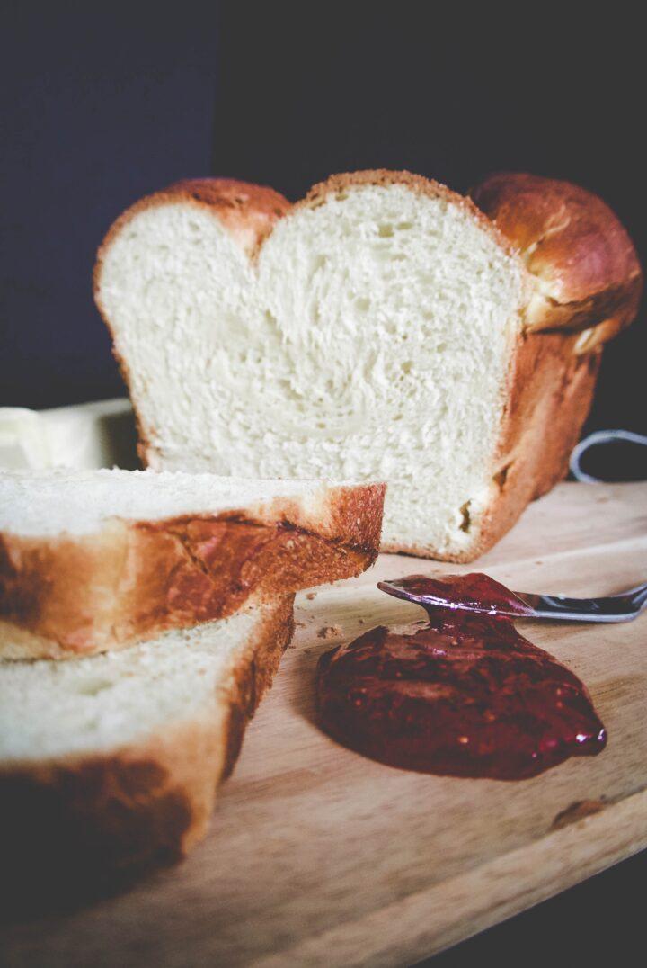 Pan brioche al profumo di arancia e limone