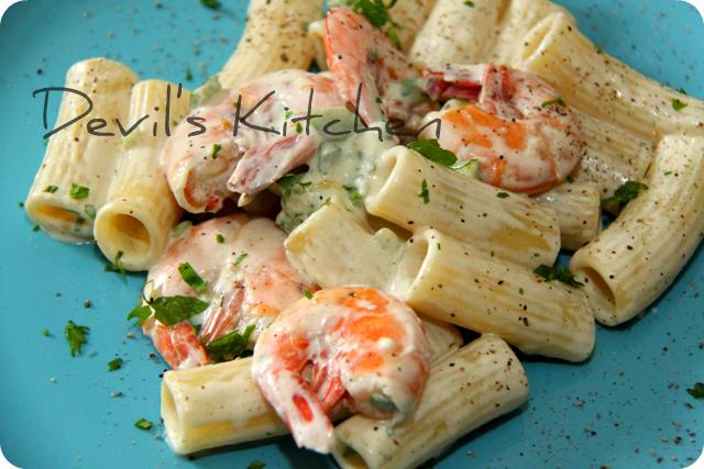 Rigatoni gamberi e zucchine cremosi primo piatto veloce for Primo piatto veloce