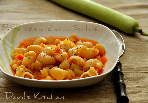 Pasta con la zucchina siciliana for La zucchina