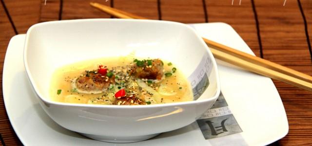 Polpettine in Brodo di Ceci Jappo Style Queste Polpettine in Brodo di Ceci Jappo Stylesono un piattino veramente sfizioso se amate la cucina etnica. Per lapreparazione del brodo poteteutilizzare quello […]
