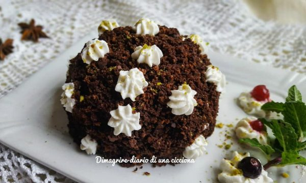 Cupoletta pan di stelle: il tortino light al cacao