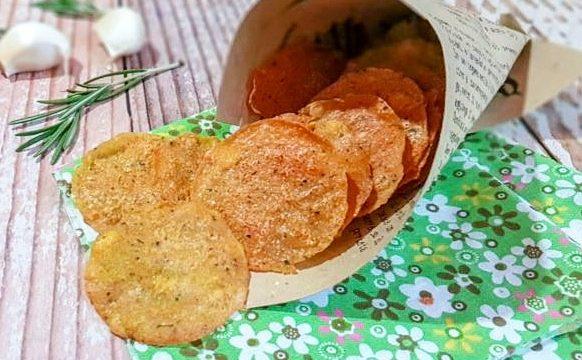 Chips di ceci e mais: ricetta veloce
