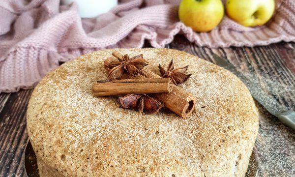 Torta soffice e leggera di mele