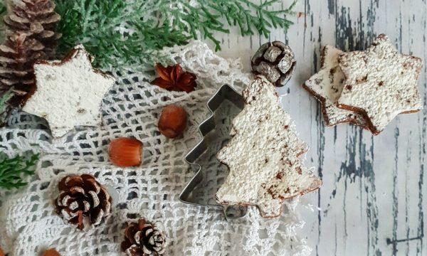 Biscotti natalizi senza glutine con fichi e ricotta