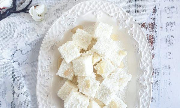 Cubotti proteici al cocco – ricetta light