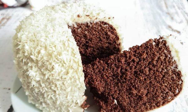 Mug cake light al cocco e cacao