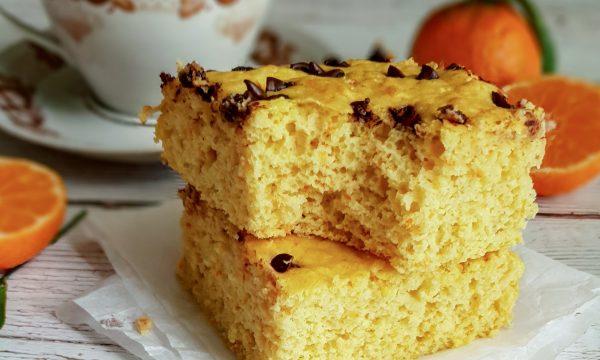 Torta gluten free ai mandarini: ricetta light