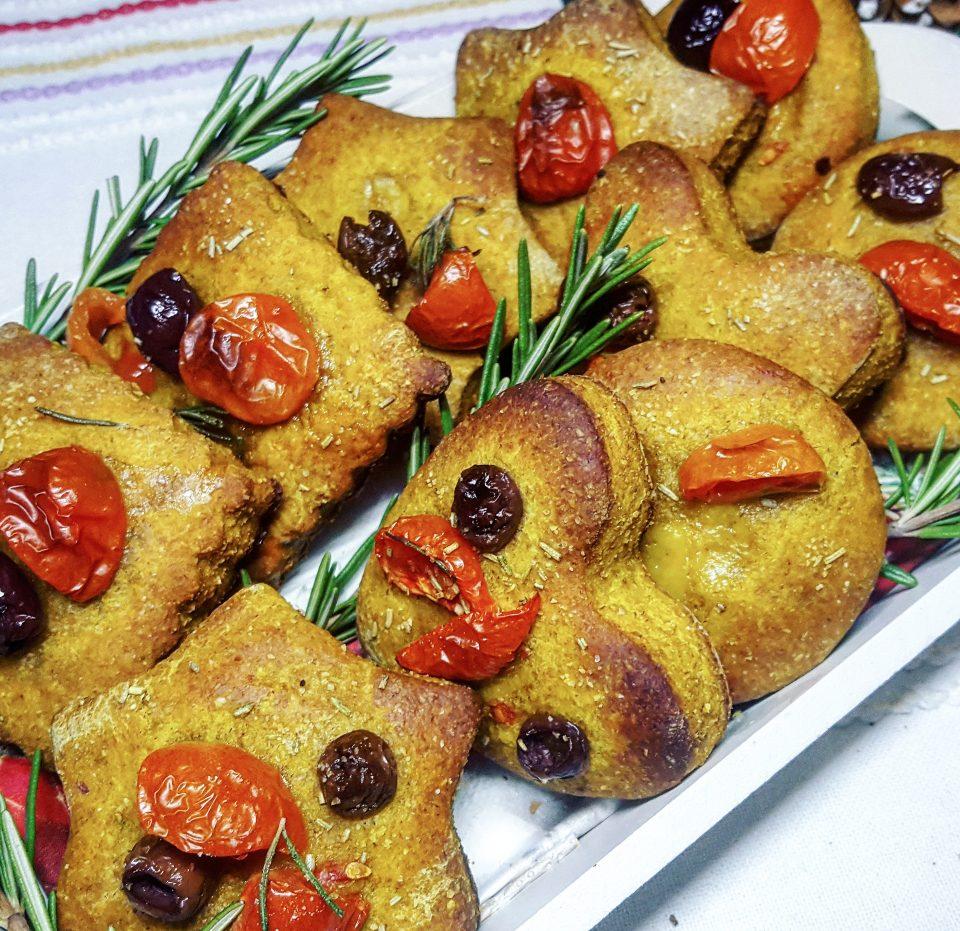 Biscotti morbidi salati di segale