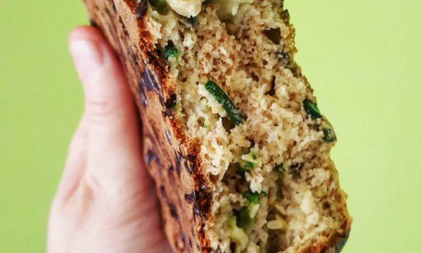 Tortino in pentolino con zucchine e farina di ceci
