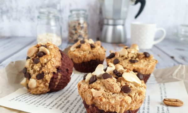 Muffin vegan banana e cioccolato: ricetta light