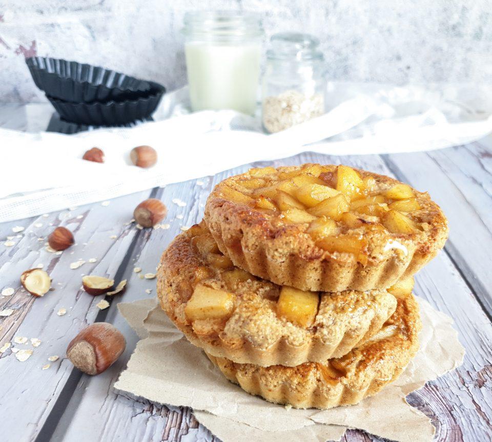 Tartellette alle mele senza farina