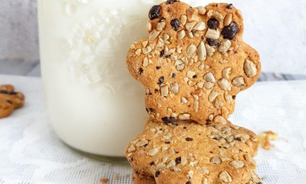 Biscotti sani di semola e avena