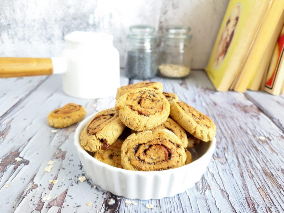 Biscotti di avena e mandorle facili