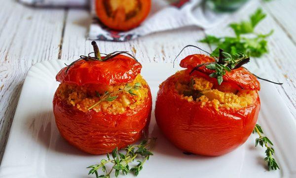 Pomodori ripieni ricetta vegetariana con couscous