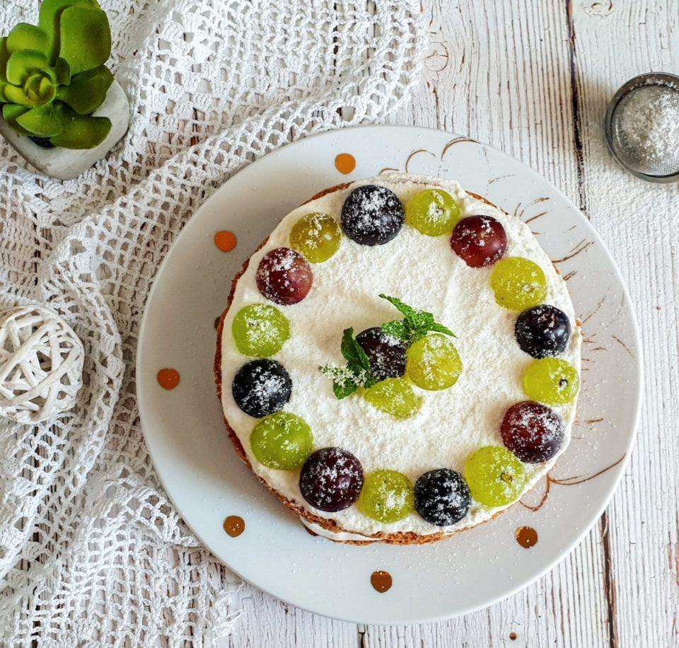 Torta light a strati