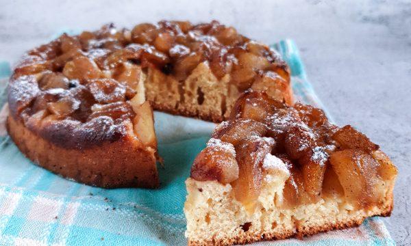 Crostata morbida di mele con zucchero di canna