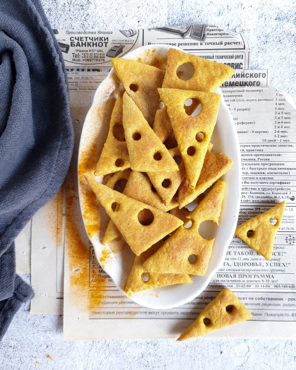 Biscotti light al parmigiano