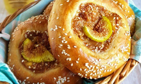 Brioche ai fichi: ricetta con olio di oliva