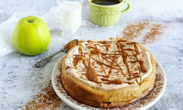 Torta leggera cuor di mela: ricetta facile e veloce