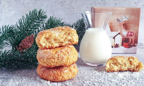 Biscotti al cocco morbidi senza zucchero