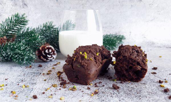 Plumcake zucca e cacao light