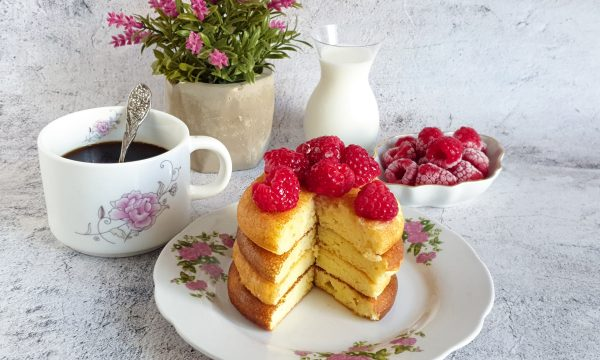 Pancake soffici senza glutine e senza lievito
