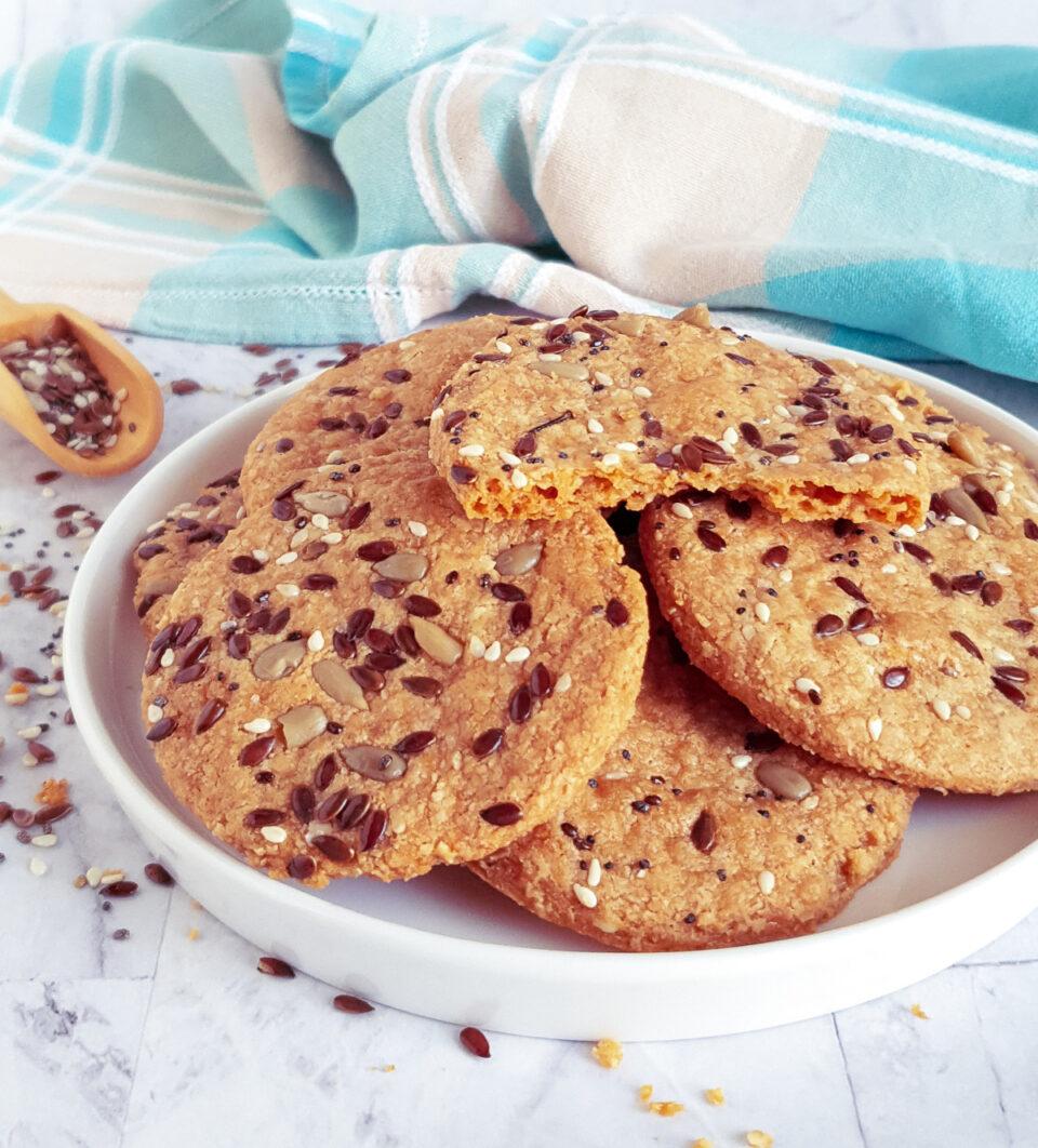 Biscotti salati per la dieta
