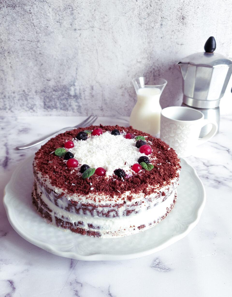Torta gluten free al cocco