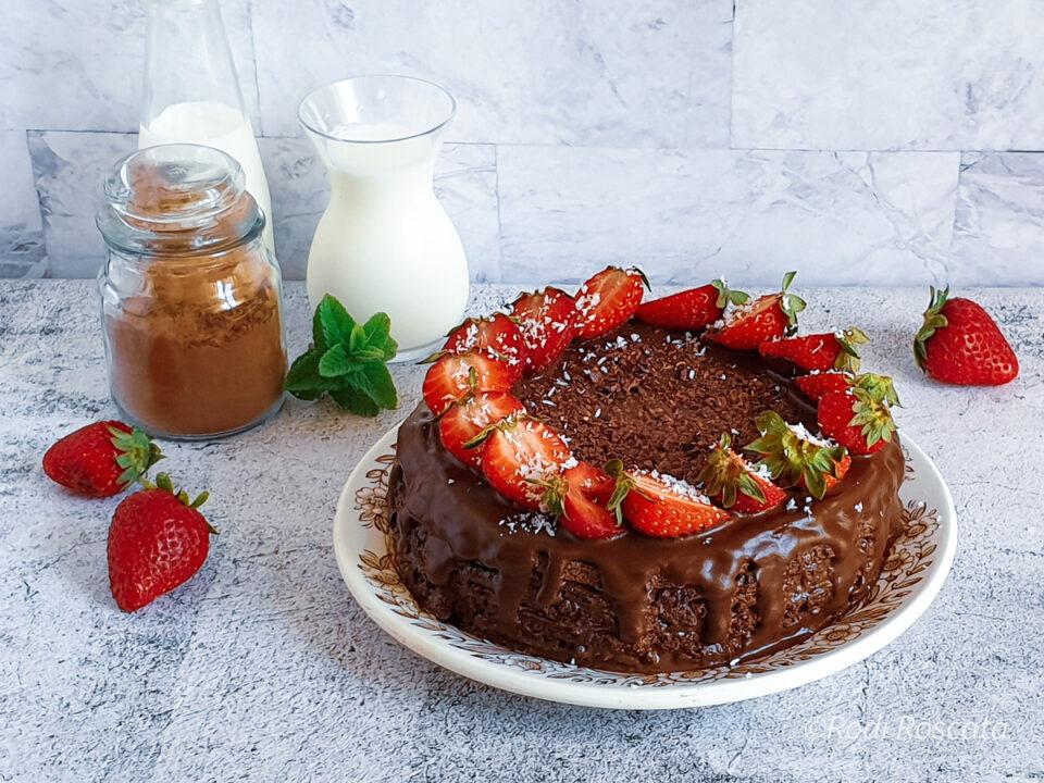 Torta in padella al cacao