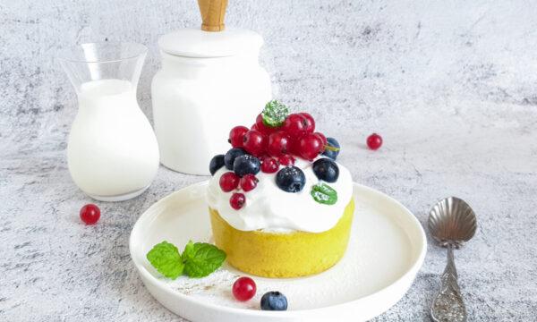 Mug cake senza glutine e senza farina