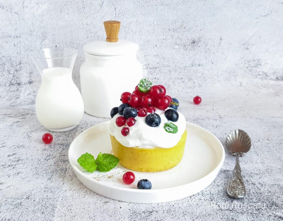 Mug cake senza glutine