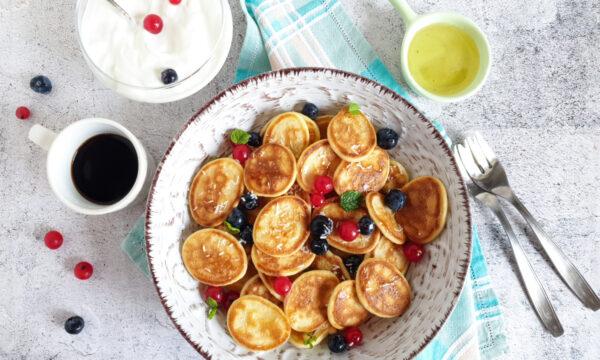 Pancake light veloci senza burro