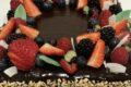 Torta marcellino (crema, cioccolato e frutti di bosco)