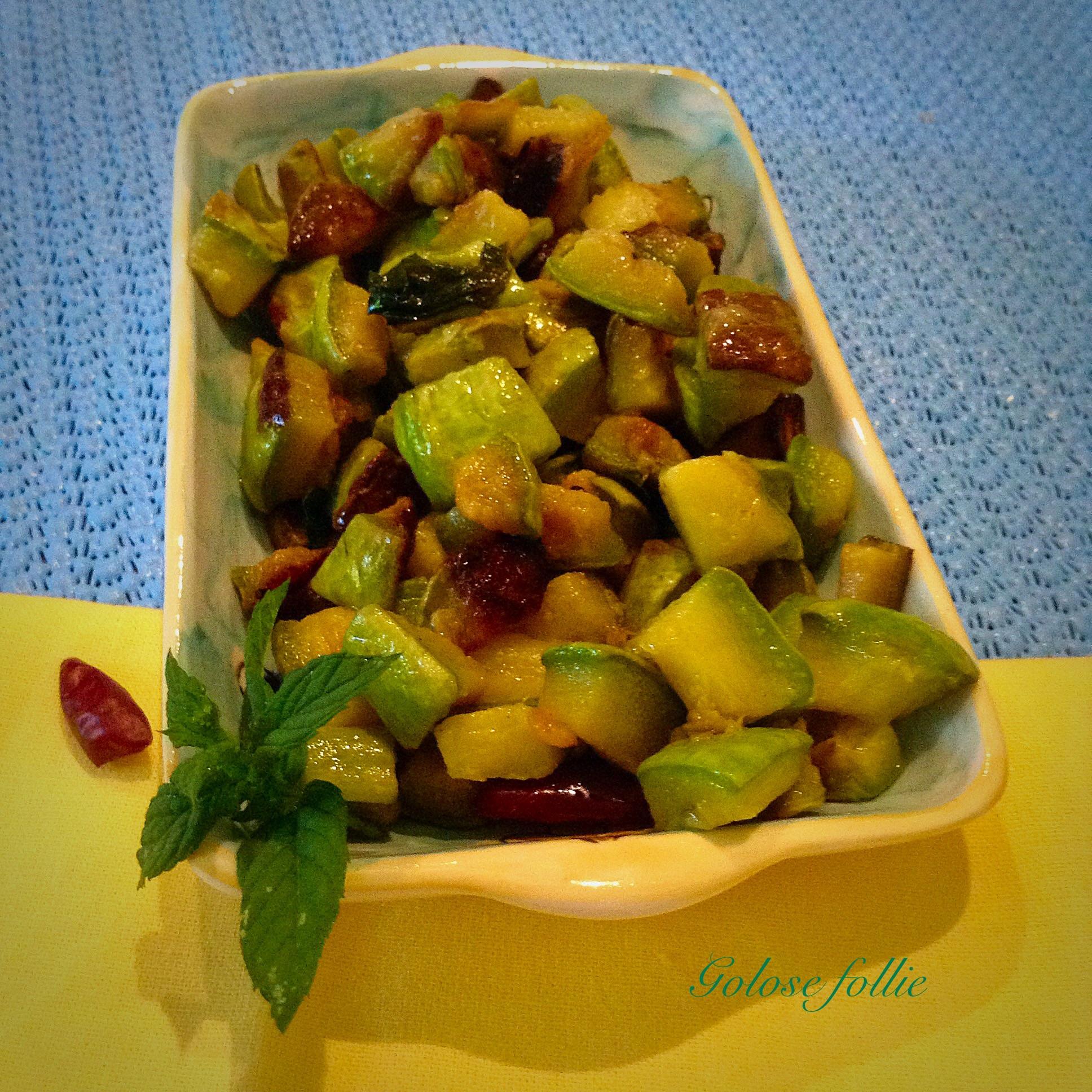 Zucchine in padella golose follie for Cucinare zucchine in padella