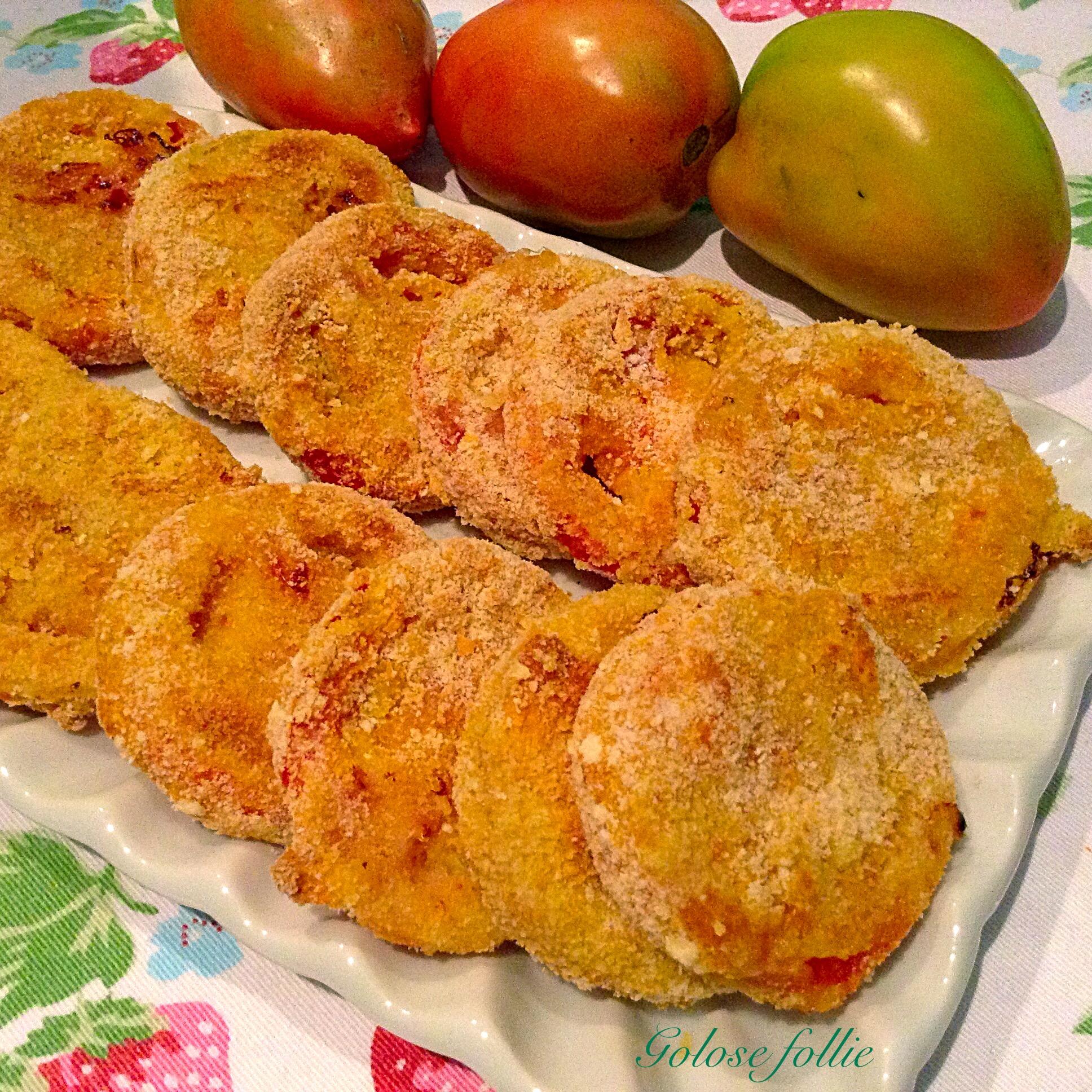 Pomodori verdi al forno | Golose follie