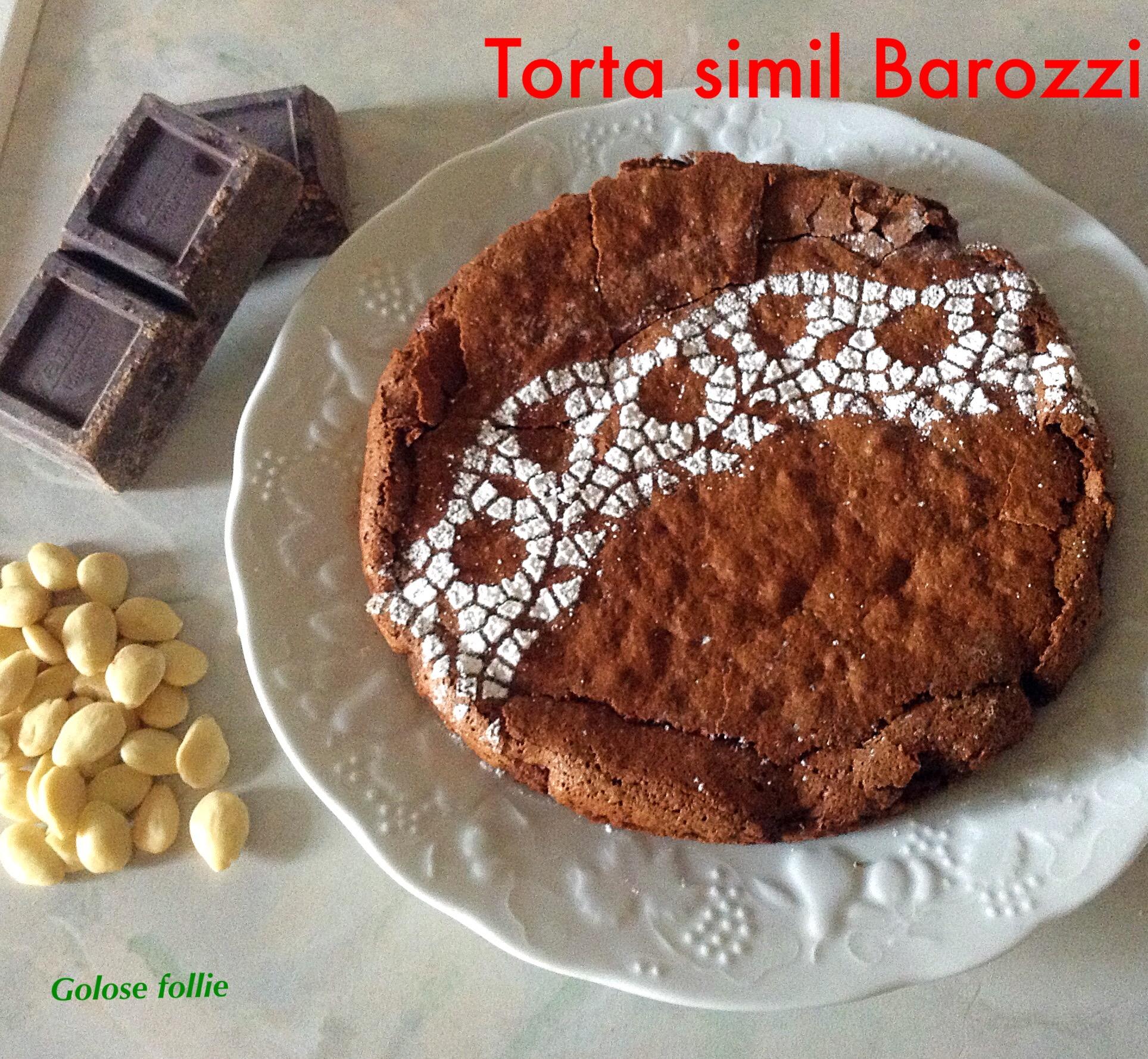 Torta simil Barozzi