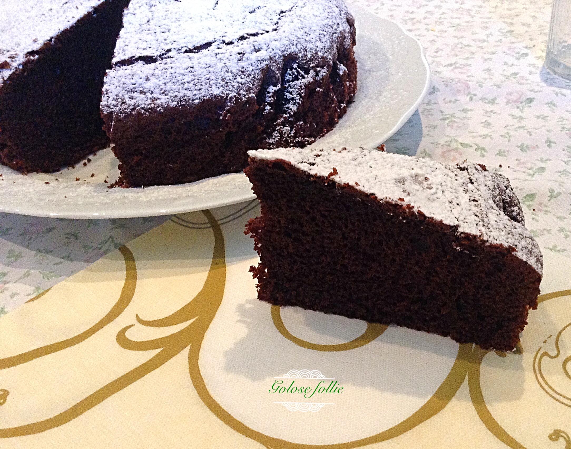 Torta soffice al cioccolato Bimby