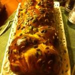 Pan brioche con semi di zucca e di girasole