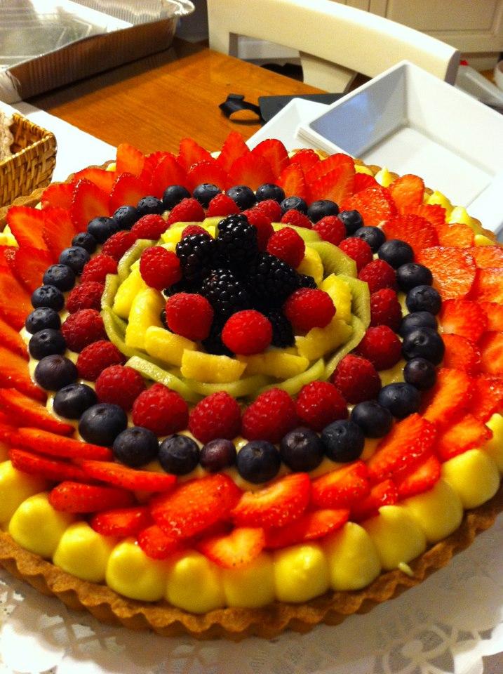 Ricetta Biscotti Torta Decorare Crostata Frutta