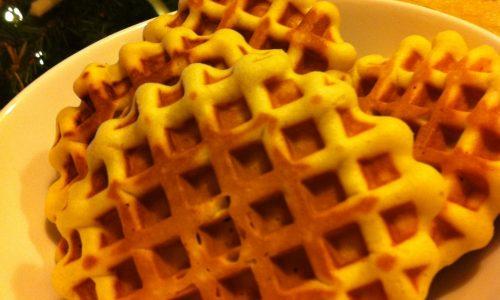 Waffle natalizi
